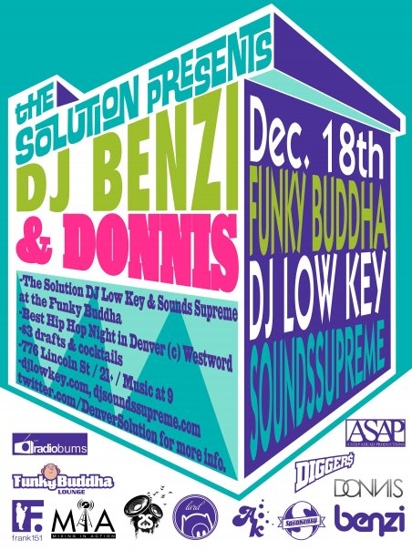 DJ Benzi & Donnis at the Solution