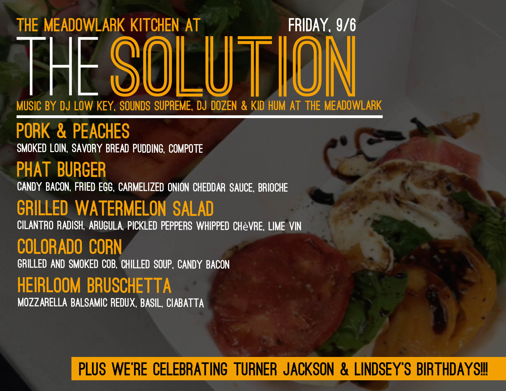 The Meadowlark Kitchen The Solution W Dj Low Key Lazy Eyez