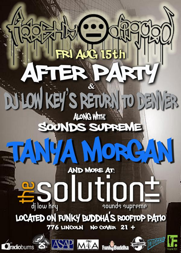Freshly Dipped Afterparty w/Tanya Morgan